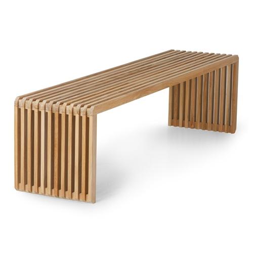 HKLIVING - Slatted Bench Teak
