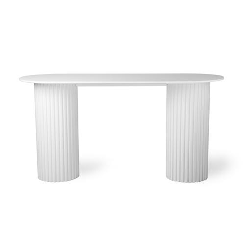 HKLIVING - Pillar Side Table Oval