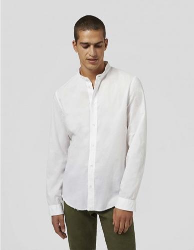 DONDUP - Musselinhemd mit Stehkragen