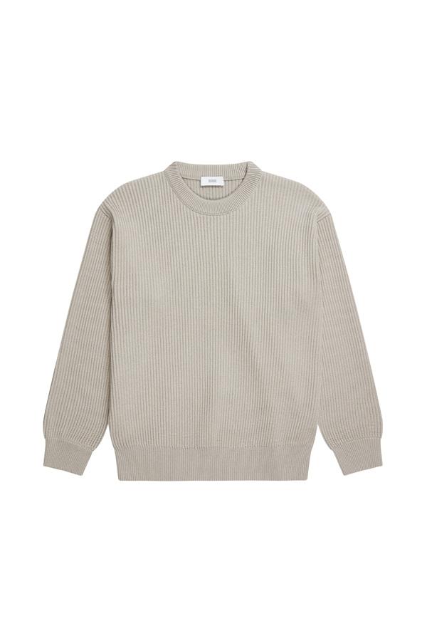 CLOSED - Rundhalspullover aus Baumwolle