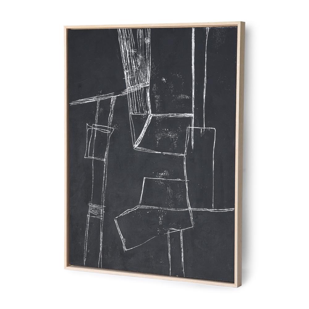 HKLIVING - Framed Brutalism Wall